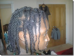 Finsihed Twists Side