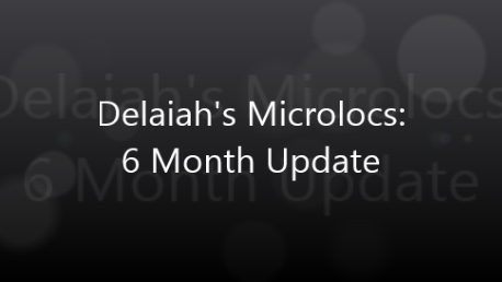 Delaiah's Microlocs - 6 Month Update